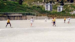 Messinaudace-Contesse 0-5 - Una fase della gara