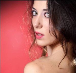 La danzatrice Sarah Lanza