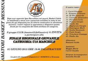Finale Under 15 Amatori Messina