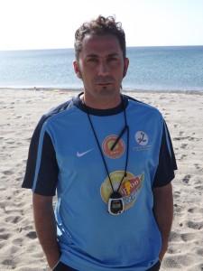 Il tecnico Gianluca Piscardi