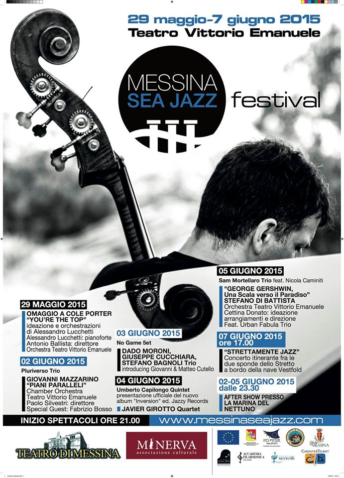 Locandina Messina Sea Jazz