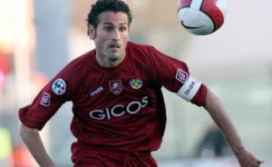 Nicola Amoruso con la maglia della Reggina