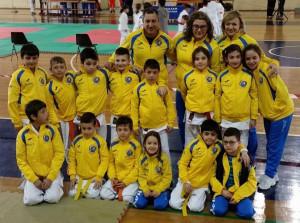 La squadra di judo del Cus Unime
