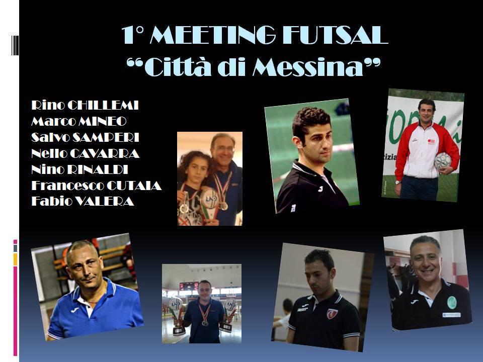 1° meeting futsal città di messina