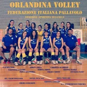 La rosa dell'Orlandina Volley, società che organizza il camp