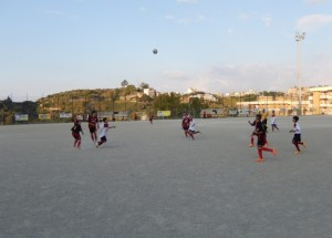Fase di gioco Aga Messina-Sporting Club Messina (ESORDIENTI)