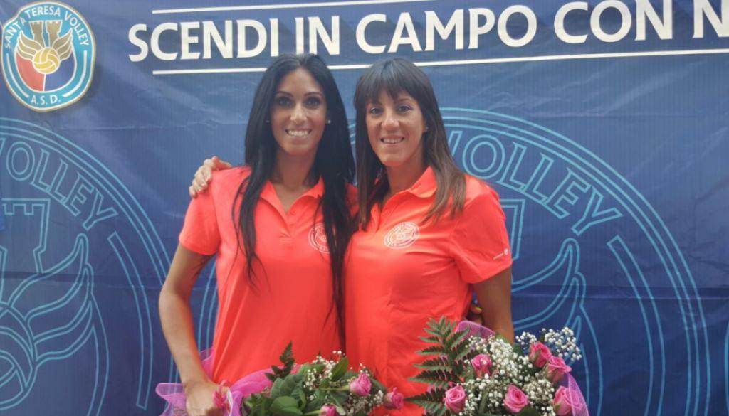 Mazzulla e Rotondo i volti nuovi del Santa Teresa Volley