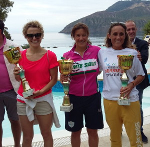 2° Aeolian Triathlon, Premiazione Femminile