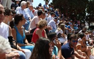 II pubblico del Circolo del Tennis e Vela