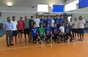 La selezione siciliana maschile che parteciperà alla Kinderiadi 2015