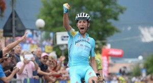 L'arrivo vincente di Nibali a Superga