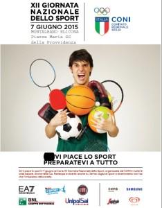 XII Giornata Nazionale dello Sport