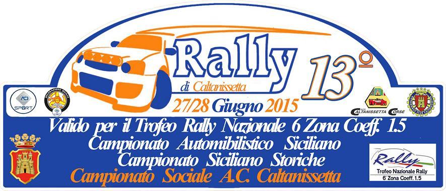 Campionato Siciliano Rally 2015