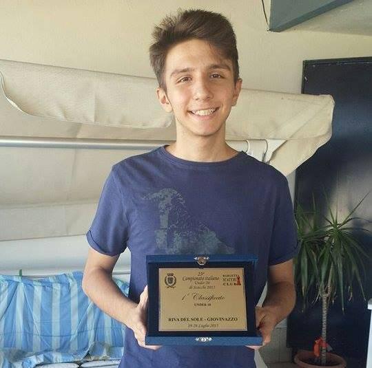 Andrea Favaloro Campione Italiano di Scacchi Under 18