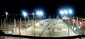 Gli impianti del Lido Sea's Sport, teatro della seconda edizione del Contesse Summer Cup