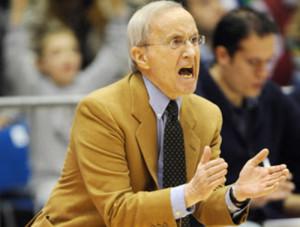 Coach Dan Peterson