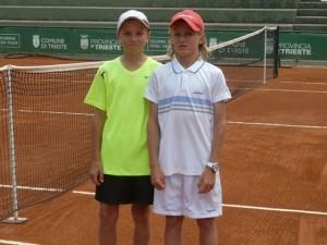Safonov e Tabacco Finalisti del torneo triestino