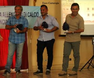 """I vincitori del premio """"Football Leader"""""""