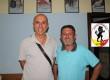 Basilio Arasi, neo preparatore fisico, in compagna di Leo Scaffidi, allenatore degli juniores