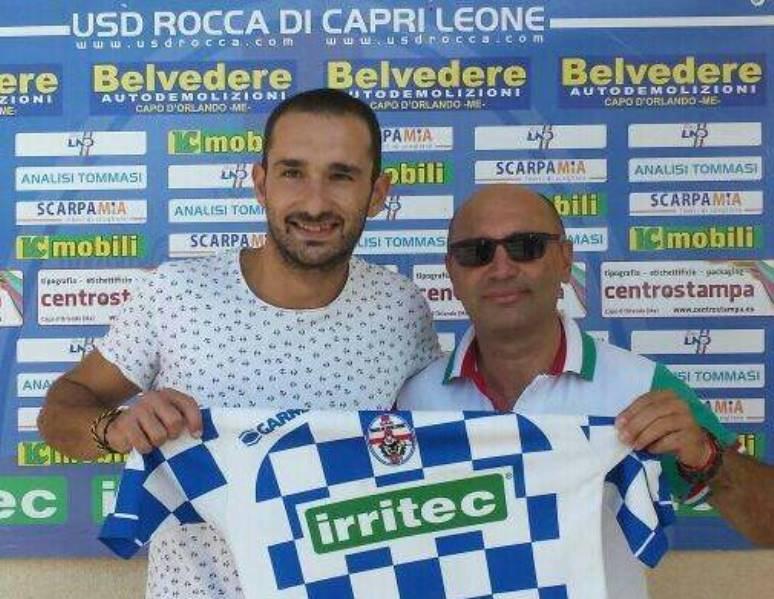 Tindaro Calabrese firma con il Rocca