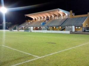Lo stadio di Seregno