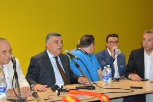 Stracuzzi, Gugliotta e Micali, tre dei quattro soci del nuovo ACR Messina