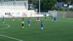 Fasi dell'utimo match di Coppa Italia tra Rocca di Caprileone e Orlandina