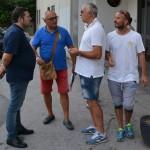 Micali ed il team manager Ciccio Alessandro