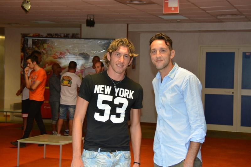 Salvatore Cocuzza ed Alessandro Parisi, due grandi ritorni al San Filippo
