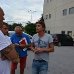 Di Napoli a colloquio con i tifosi