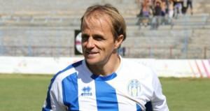 Davide Baiocco con la maglia dell'Akragas