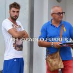 Il team manager Ciccio Alessandro sfodera una cartellina