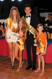 La premiazione di Alessia Torre e Antonio Puliafito
