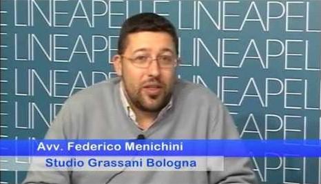 L'avvocato Federico Menichini