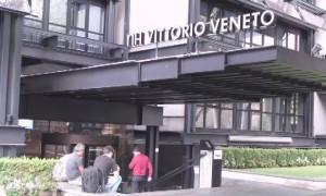L'ingresso dell'albergo in cui verrà scritto il futuro dell'ACR Messina
