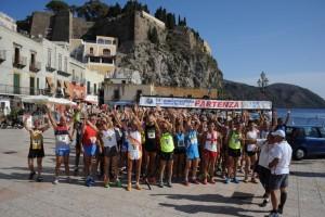 Partenza quarta tappa Lipari (Marina Corta)