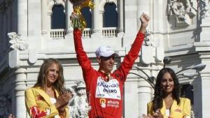 Quanto è lontano il trionfo del 2010, il primo in una grande corsa a tappe...