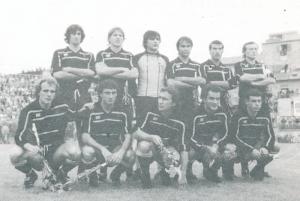 Una formazione dell'ACR Messina del campionato 1983-84