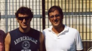 Ciro Ferrara e Nicola Crisano