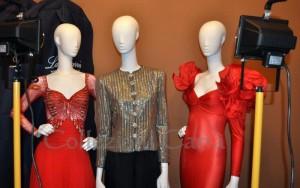 Alcuni abiti della mostra