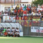 La tifoseria del Messina al seguito della squadra