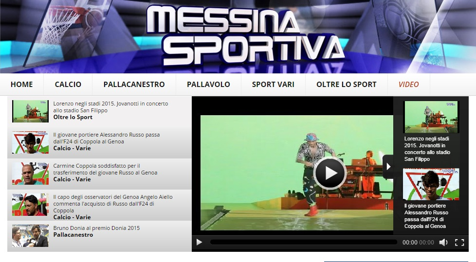 preview sezione video