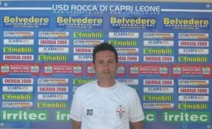 Giuseppe Scaffidi nella scorsa stagione al Rocca