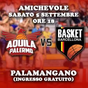 Amichevole Palermo-Barcellona