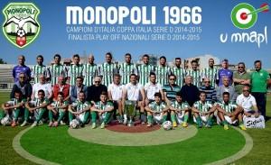 Il Monopoli ha vinto l'ultima Coppa Italia di Serie D