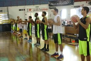 I giocatori del Basket Barcellona