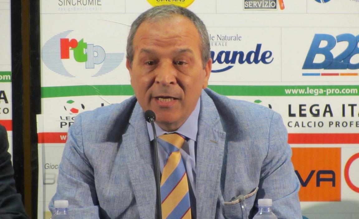 Il presidente Natale Stracuzzi