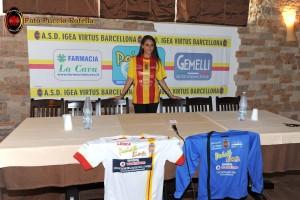 La presentazione degli sponsor dell'Igea Virtus