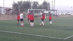 Città di Messina allenamento