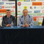 Argurio, Gugliotta, Stracuzzi e Manfredi in conferenza stampa